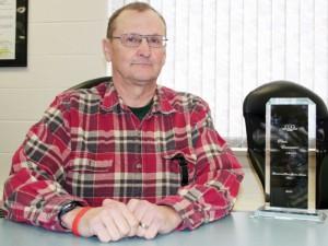 Livingstone Range School Board chairman Dick Peterson