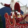 Santa in Fort Macleod