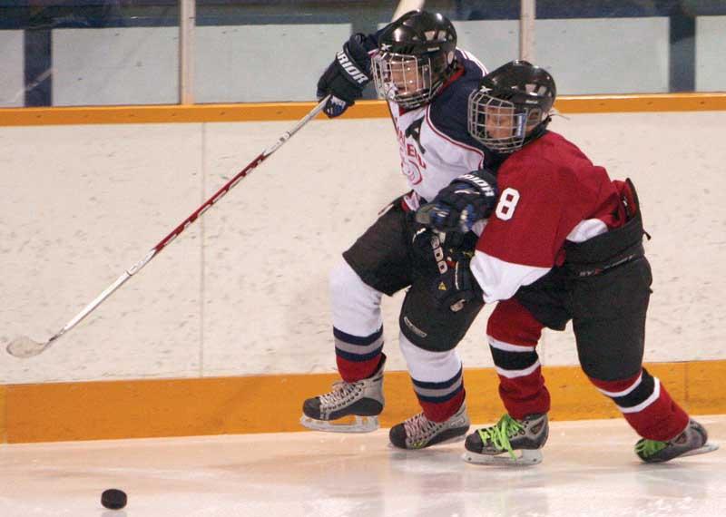 Peewee midget hockey leth ab