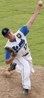 Pitcher Jake Hansen