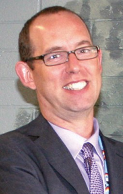 G.R. Davis school principal Ian Stewardson