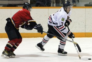 Nick Yorgason of the Fort Macleod Mustangs