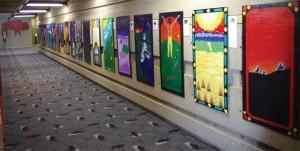Blackfoot legends art display