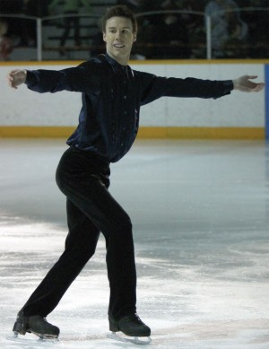 Fort Macleod club skater Jesse Smith
