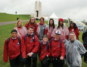 Fort Macleod students visit Vimy Ridge
