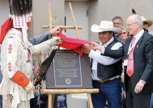 buffalo jump anniversary plaque