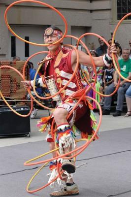 hoop dancer Dallas Arcand