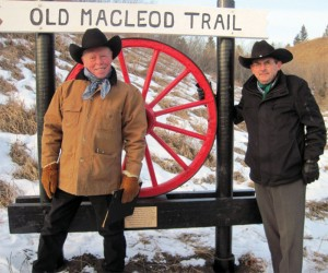 Old Macleod Trail marker