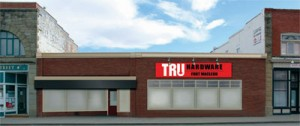 Tru Hardware Fort Macleod is preparing to open in the former Bargain Shop location on Main Street. The MPC is discussing signage and colours.