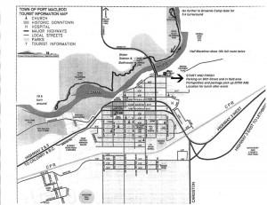 Willow Creek Wilderness Walk/Run  map