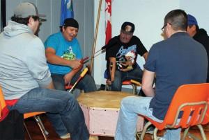 Blackfoot drum group