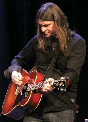 Roots-rock performer Dave McCann of Lethbridge.