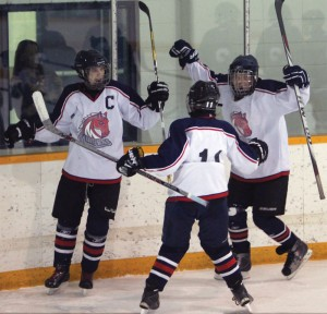 The Fort Macleod Mavericks are league champions.