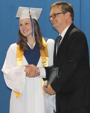 Valedictorian Carlin Van Driesten
