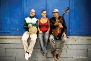 Trio Bembe will bring Latin rhythms to the Empress Theatre in Fort Macleod as part of the 2015-'16 Centre Stage Series.