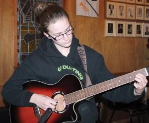 Guitarist Sarah Gateman