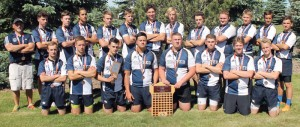 The Southwest United Rugby Football Club won the bronze medal at the provincial championship.