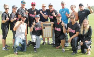 Co-ed Slowpitch team Outlaws