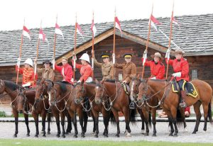Mounted Patrol at The Fort