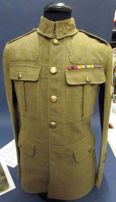 The uniform belonging to Sgt. Jack Shield has been at the Galt Museum since 1965 but was only recently identified as Shield's.
