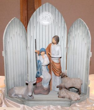 The nativity display event returns on Thursday and Friday.