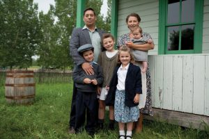 The cast of 'Waiting For Waldemar,' to be shown April 29 in Fort Macleod.