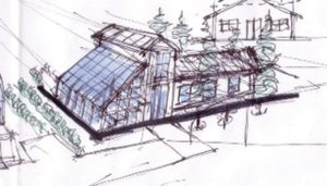 greenhouse sketch