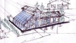 greenhouse sketch