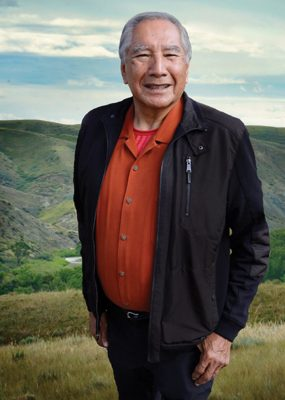 A mentor and instructor of students and an esteemed advisor on aboriginal matters at the local, provincial, national and international level, Dr. Leroy Little Bear was a founder of the university's Department of Native American Studies. Photo courtesy of Alberta Order of Excellence
