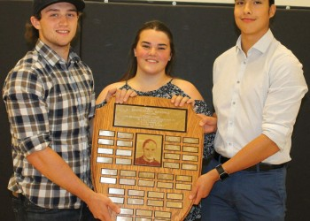F.P. Walshe school Grade 12 athletes share Danny Paskal Memorial Award