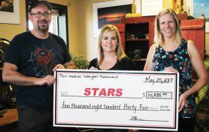 stars cheque
