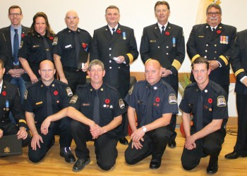 Fort Macleod firefighters honoured for service