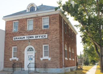 Town of Granum's viability is under review