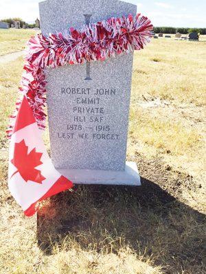 robert emmits grave