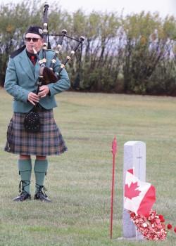 Two Granum veterans honoured in special ceremony